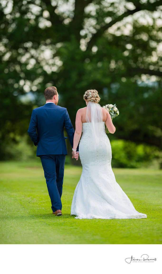Wedding Photographer Derby - Newlyweds Shared Moment