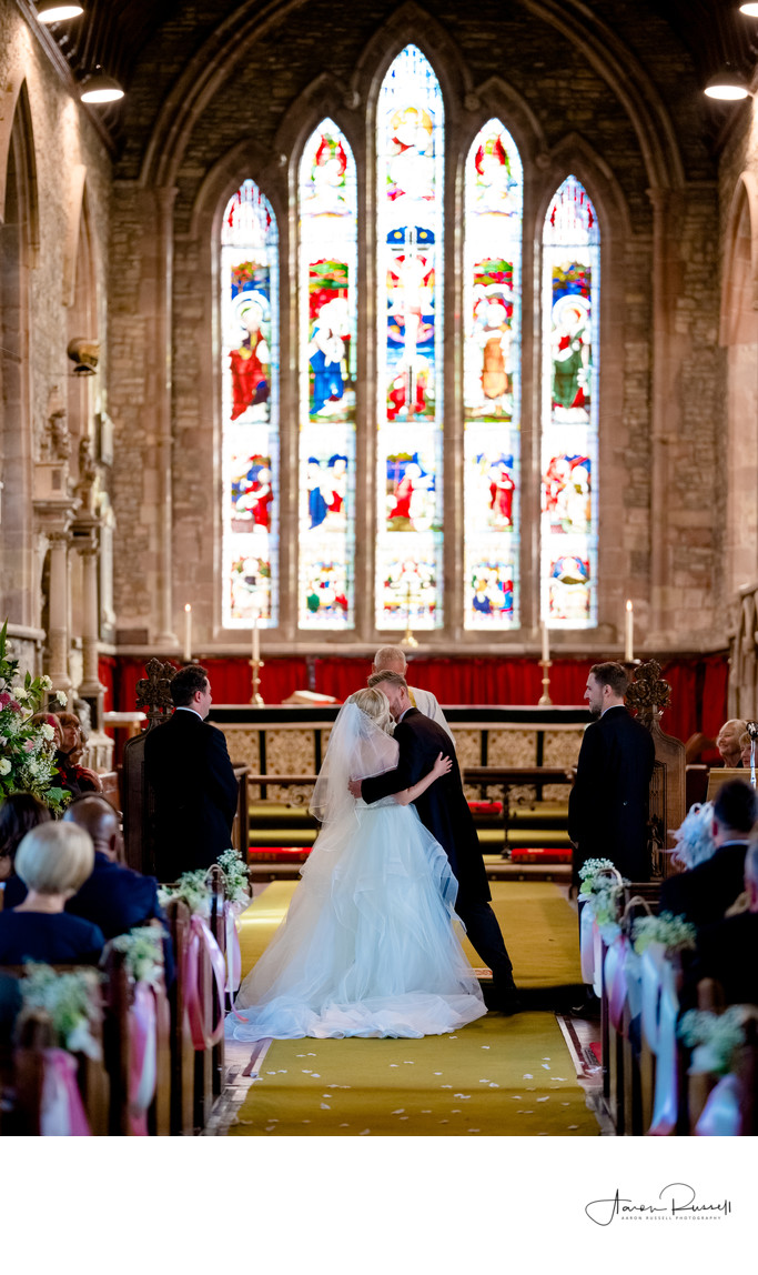 Church Wedding Leicestershire Photographers