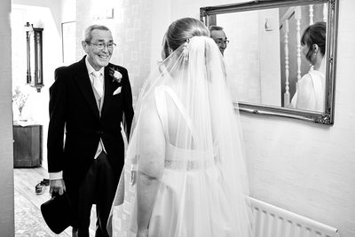 Father of Bride Wedding Photographers Derbyshire