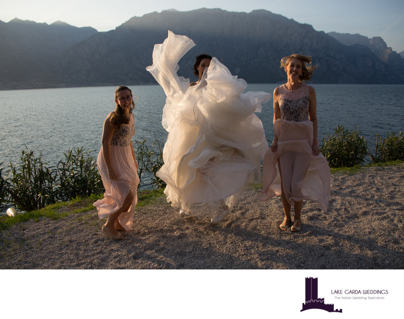 Magnificent weddings in Malcesine.