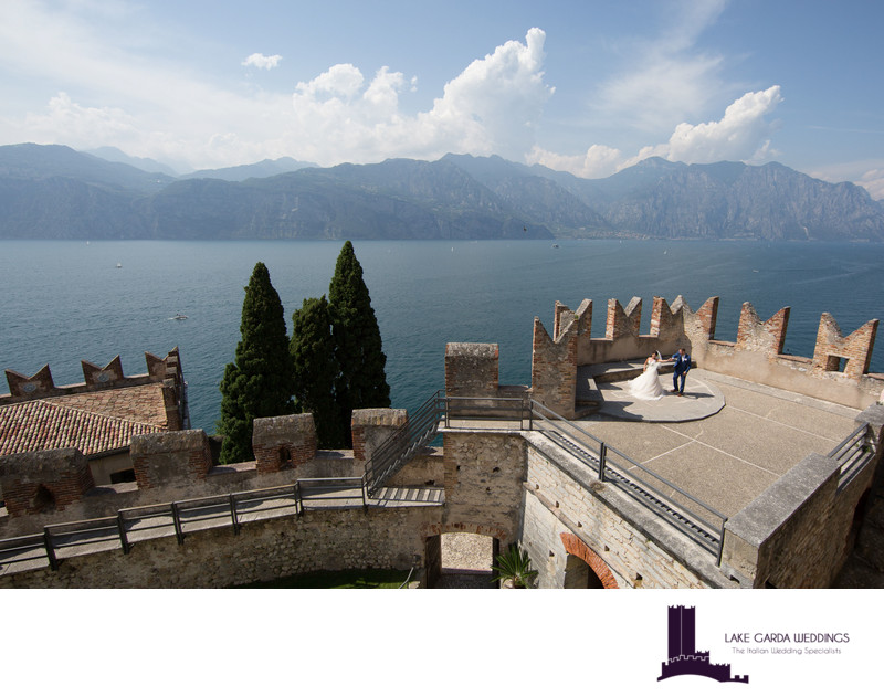 Magnificent weddings on Lake Garda, Europe