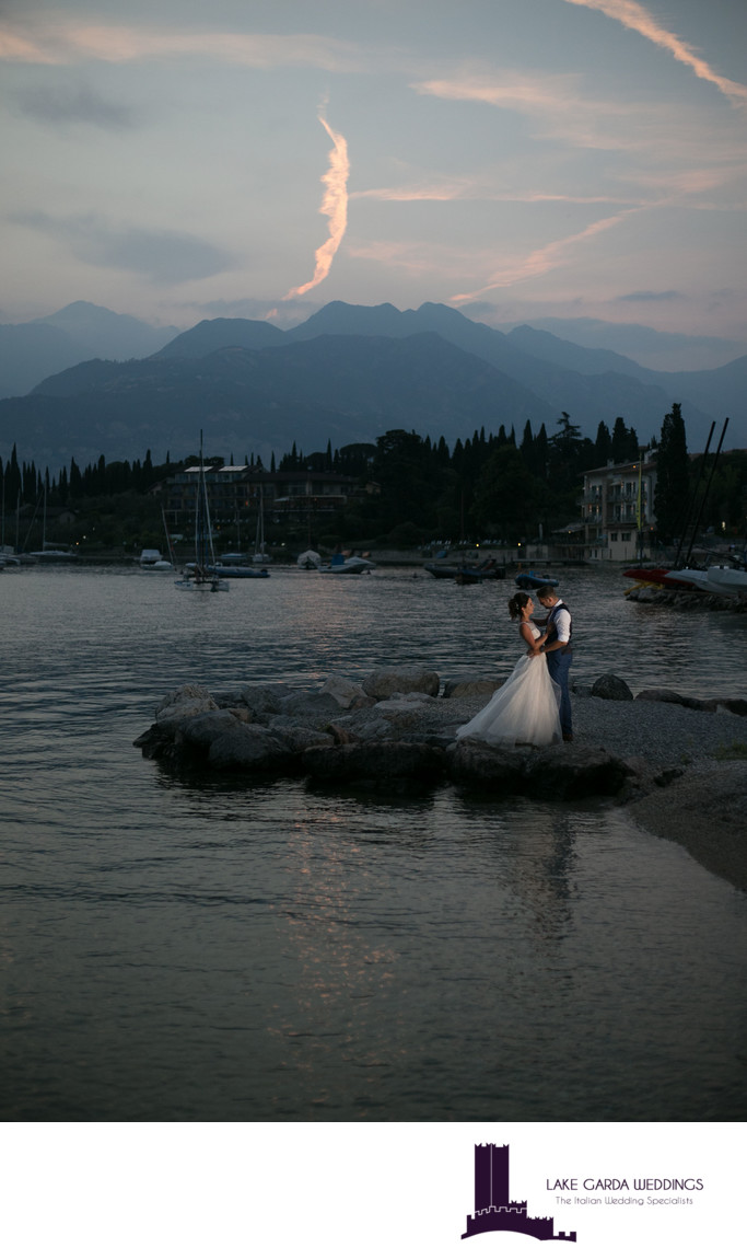 Sublime wedding planners on Lake Garda