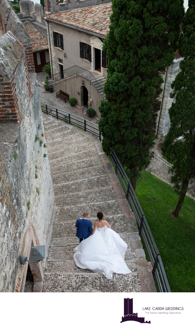 Divine and romantic castle weddings in Italy