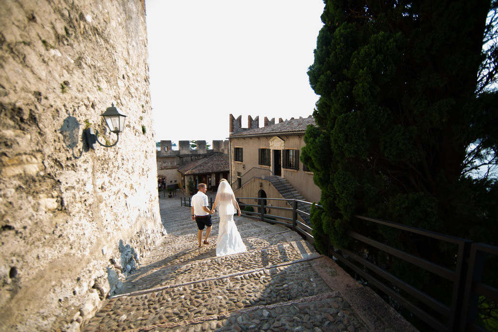 Lizzie & Luke Destination Wedding in Malcesine