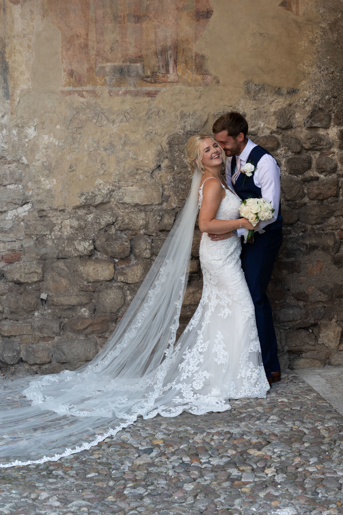 Exquisite wedding photography in Malcesine,Italy
