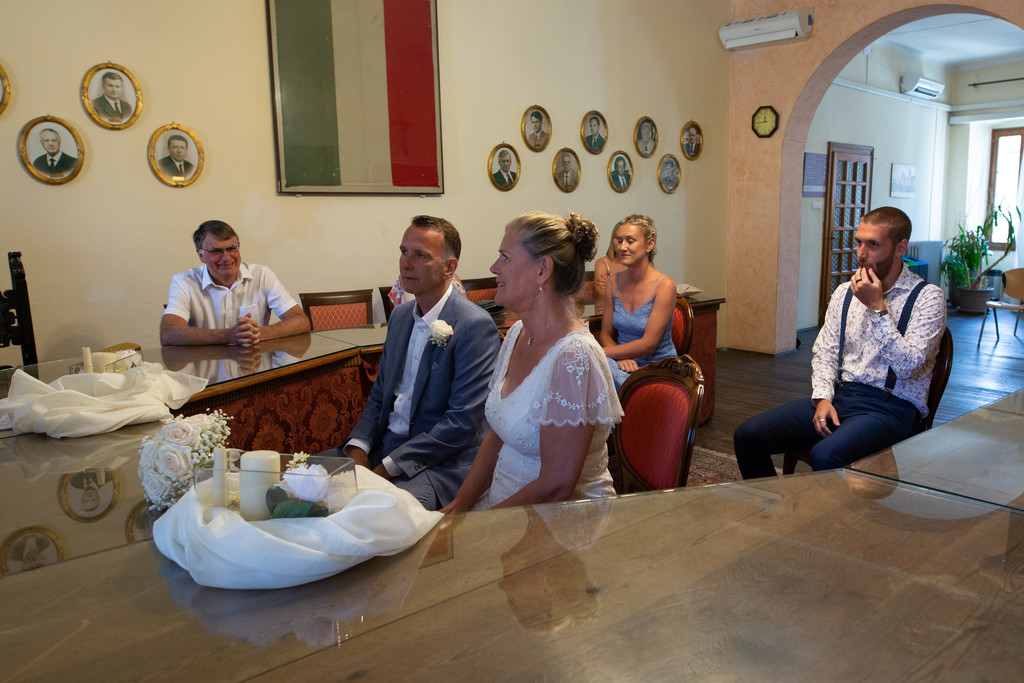Wedding in Lazise Town Hall