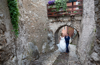 Sentimental and fun weddings in Malcesine