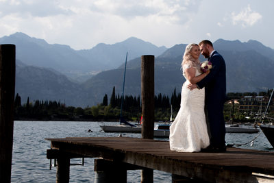 Dreamy weddings with relaxing boat trips on Lake Garda.