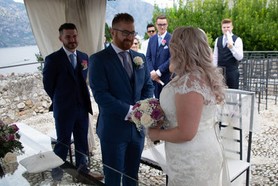 Colourful weddings on Lake Garda