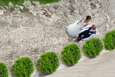 Stacy & Shaun, stunning images in Malcesine Castle