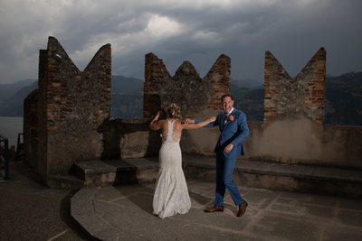 Seductive weddings in beautiful Italy, Lake Garda