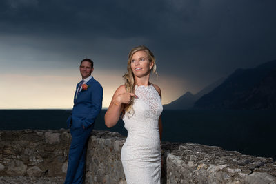 Wondrous weddings in Italy - stormy day