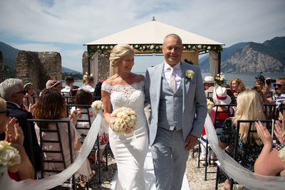 First Class weddings in Malcesine Castle