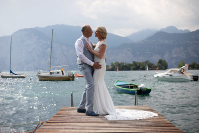 Tracey & Paul's Perfect Day in Malcesine