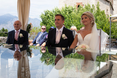 First Class weddings on Lake Garda