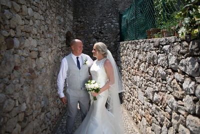 Father and Daughter in Malcesine Castle