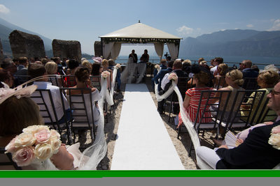 Tailor-made wedding planners in Malcesine Castle