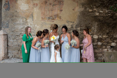 Wedding photography in Malcesine Castle