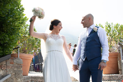 Wondrous and happy weddings in Italy