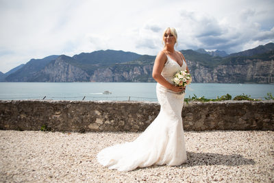 Stunning Lake Views, Weddings in Malcesine.