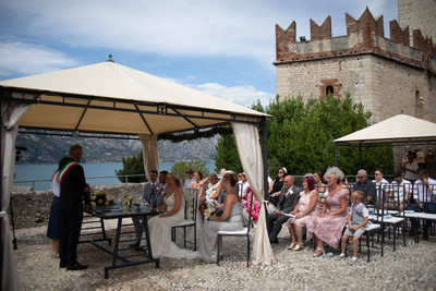 Outstanding wedding venues in Italy, Malcesine Castle
