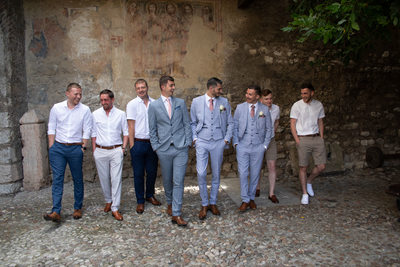 Boys will be boys, Malcesine, Italy Lake Garda Weddings