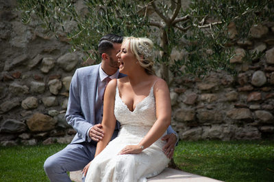 Happiness by Lake Garda Weddings.