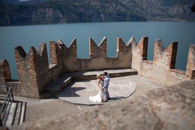 First Dance Terrace Castle of Malcesine
