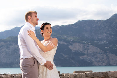 5pm August weddings in Malcesine