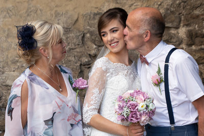 Lisa & Josh, Family Wedding Malcesine Castle, Italy