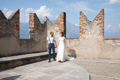 Josh & Lisa Wedding Malcesine Castle, Italy