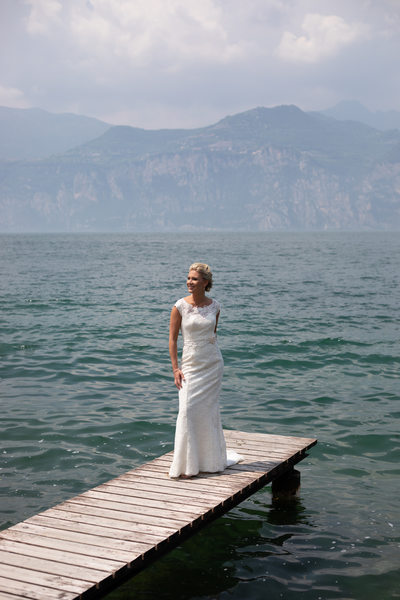 Captivating castle weddings in Malcesine, Lake Garda