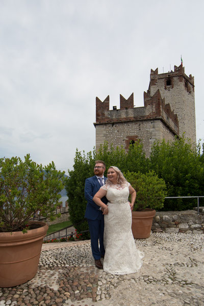 Dreamy weddings in Malcesine Castle.