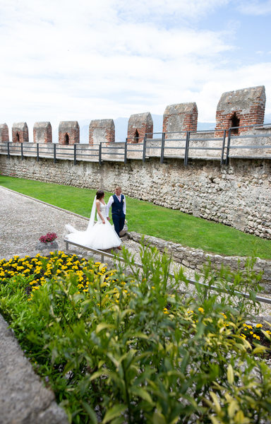 Stacy & Shaun - one of a kind wedding venue in Europe