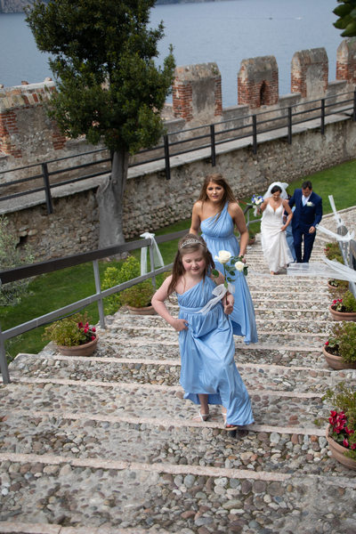 Harmonious weddings in Malcesine.