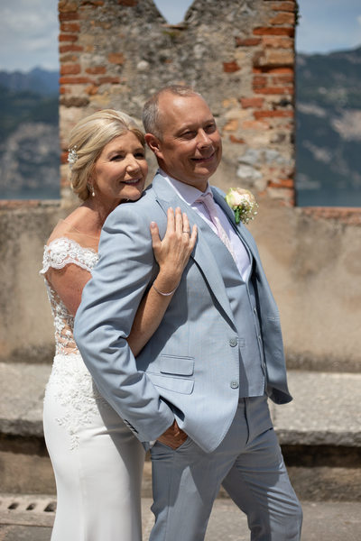 Tracy & Paul, Malcesine Castle Wedding