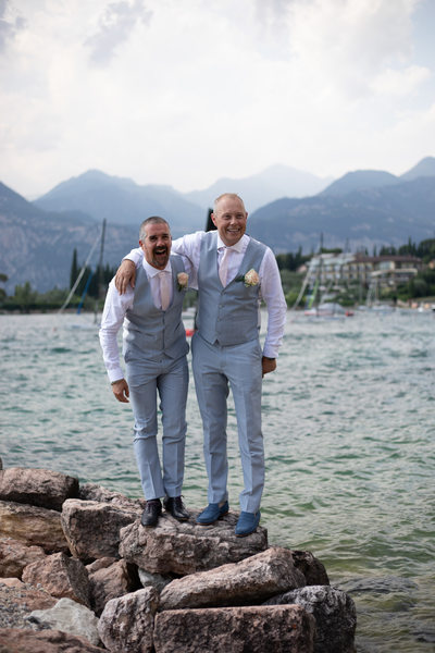 Tracey & Paul's Perfect Wedding in Malcesine Castle