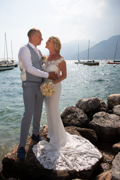 Tracey & Paul's Dream Wedding in Malcesine, Italy