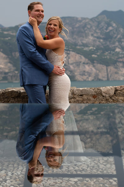 Sublime wedding photography and planners on Lake Garda