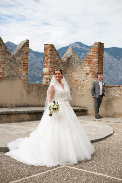 Big Dress on Lake Garda, Malcesine