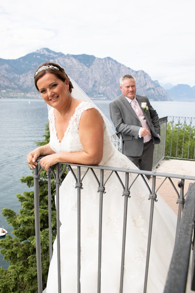 Happy Charlotte and Jez, Italy Weddings