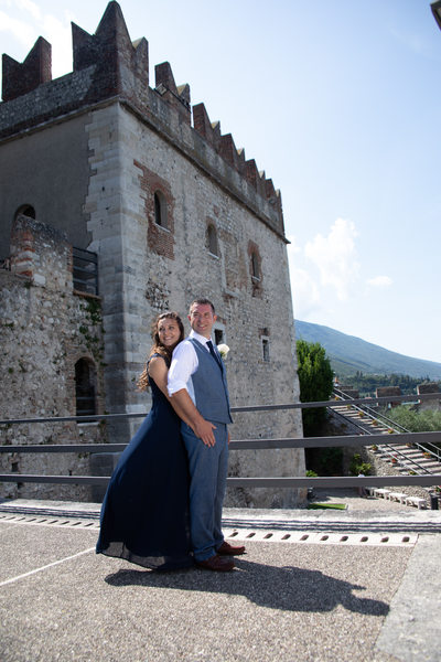 A glance to their future in the Castle of Malcesine