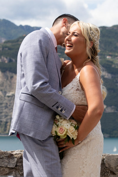 Happiness created by Lake Garda Weddings.