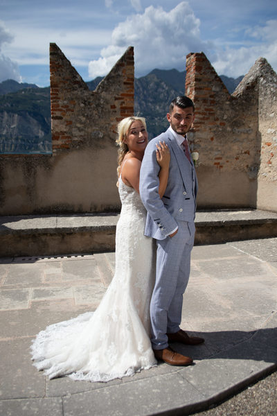 Gemma - Mark, Perfect wedding, Malcesine