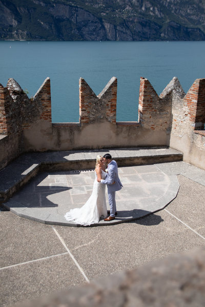 First Dance Dancing Terrace Castle of Malcesine