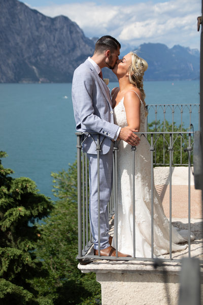 Steamy Romance in Malcesine Castle.
