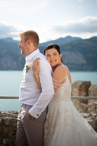 5pm Weddings in malcesine Castle