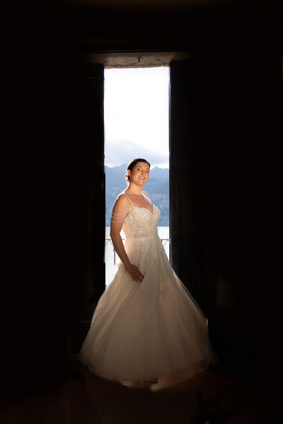 5pm glow wedding photography in Malcesine Castle