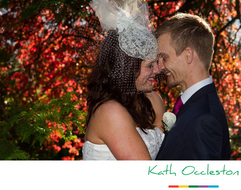 Nikki & Daz's Autumn wedding