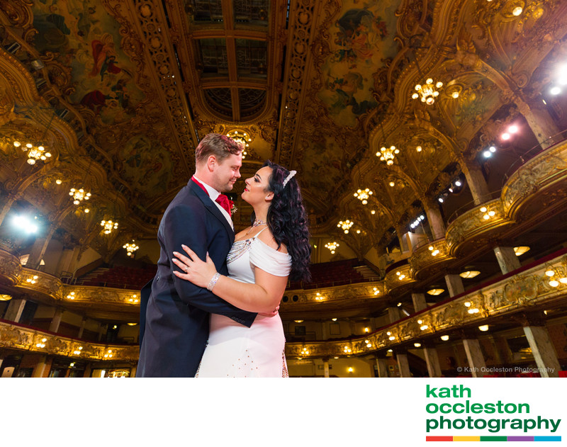 Blackpool Tower ballroom wedding